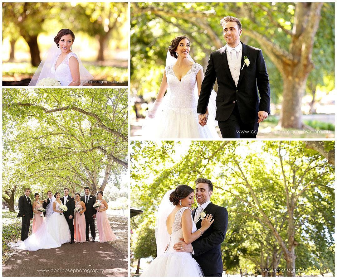 Hyde Park Perth Wedding