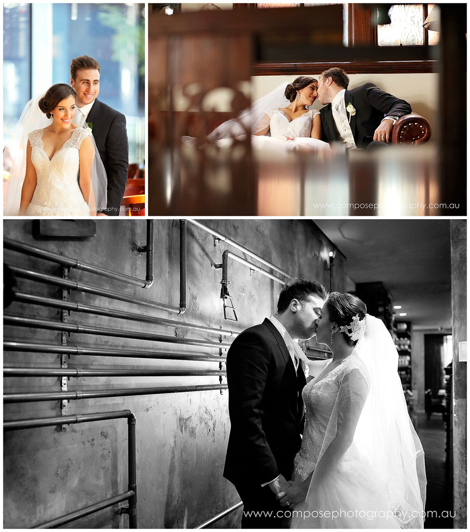 where to go for wedding photos in perth when it rains