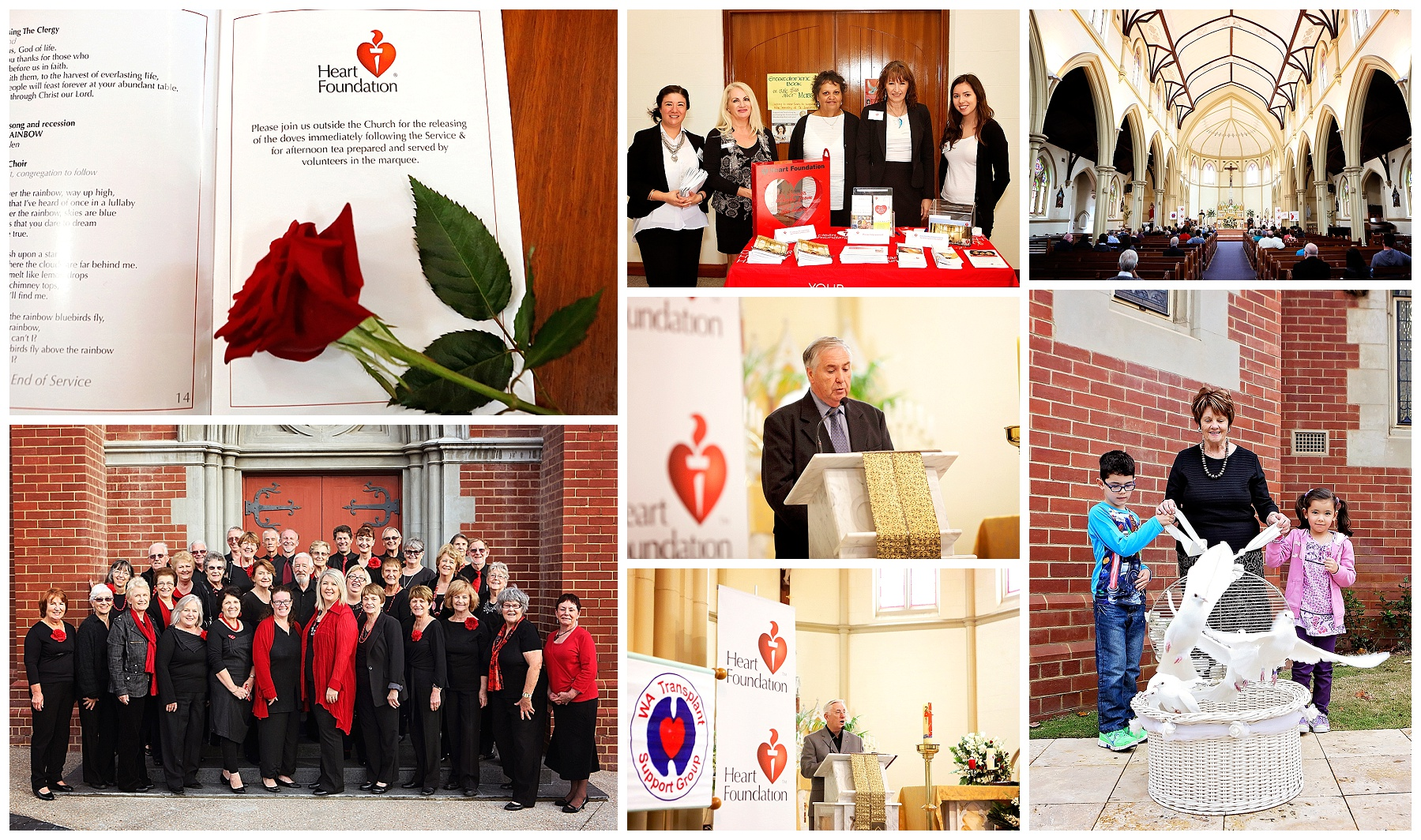 Heart Foundation Memorial Service