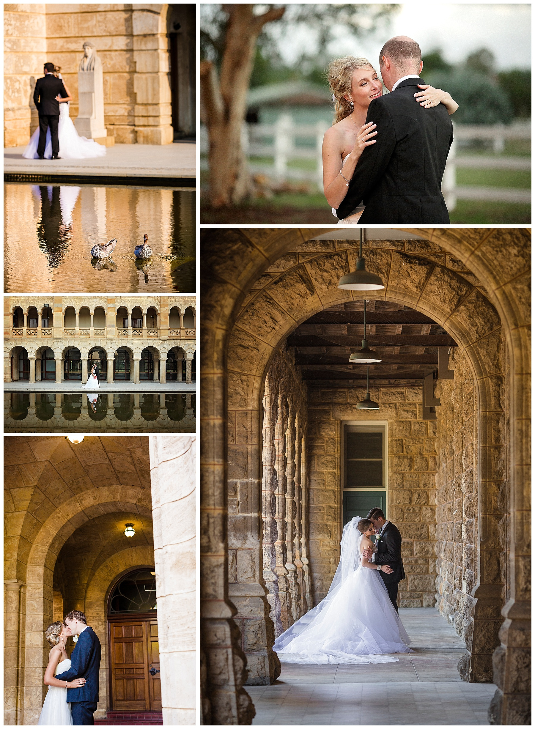 wedding photos at uwa