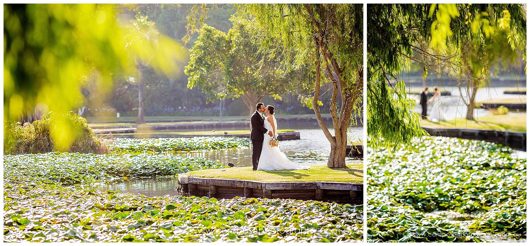 queens garden wedding photo