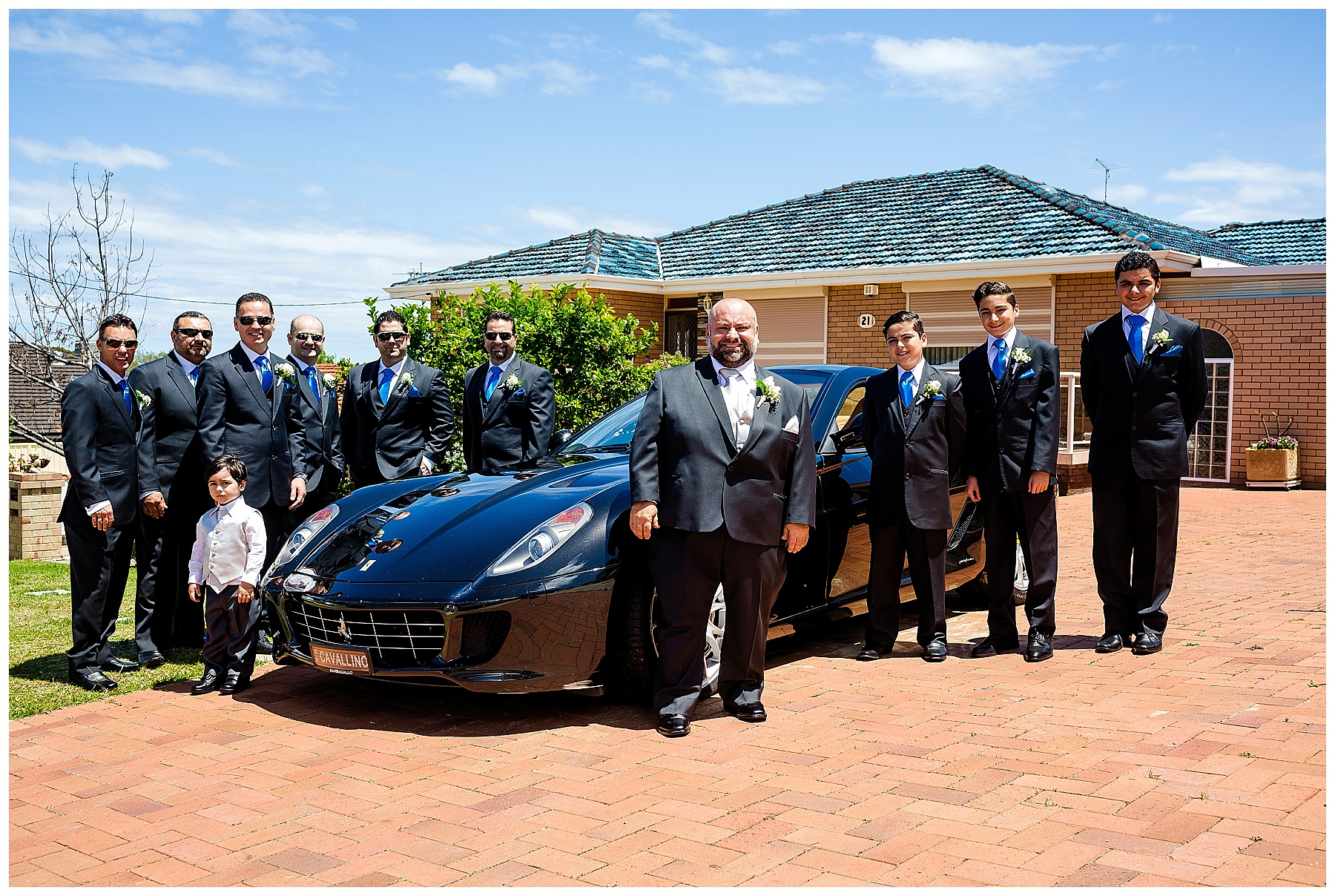 ferrari wedding car perth
