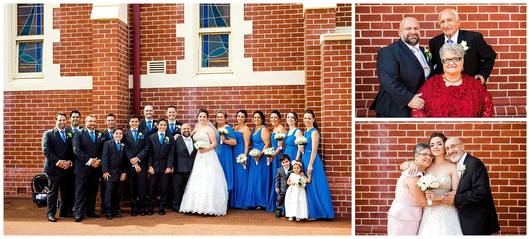 wedding at christ the king