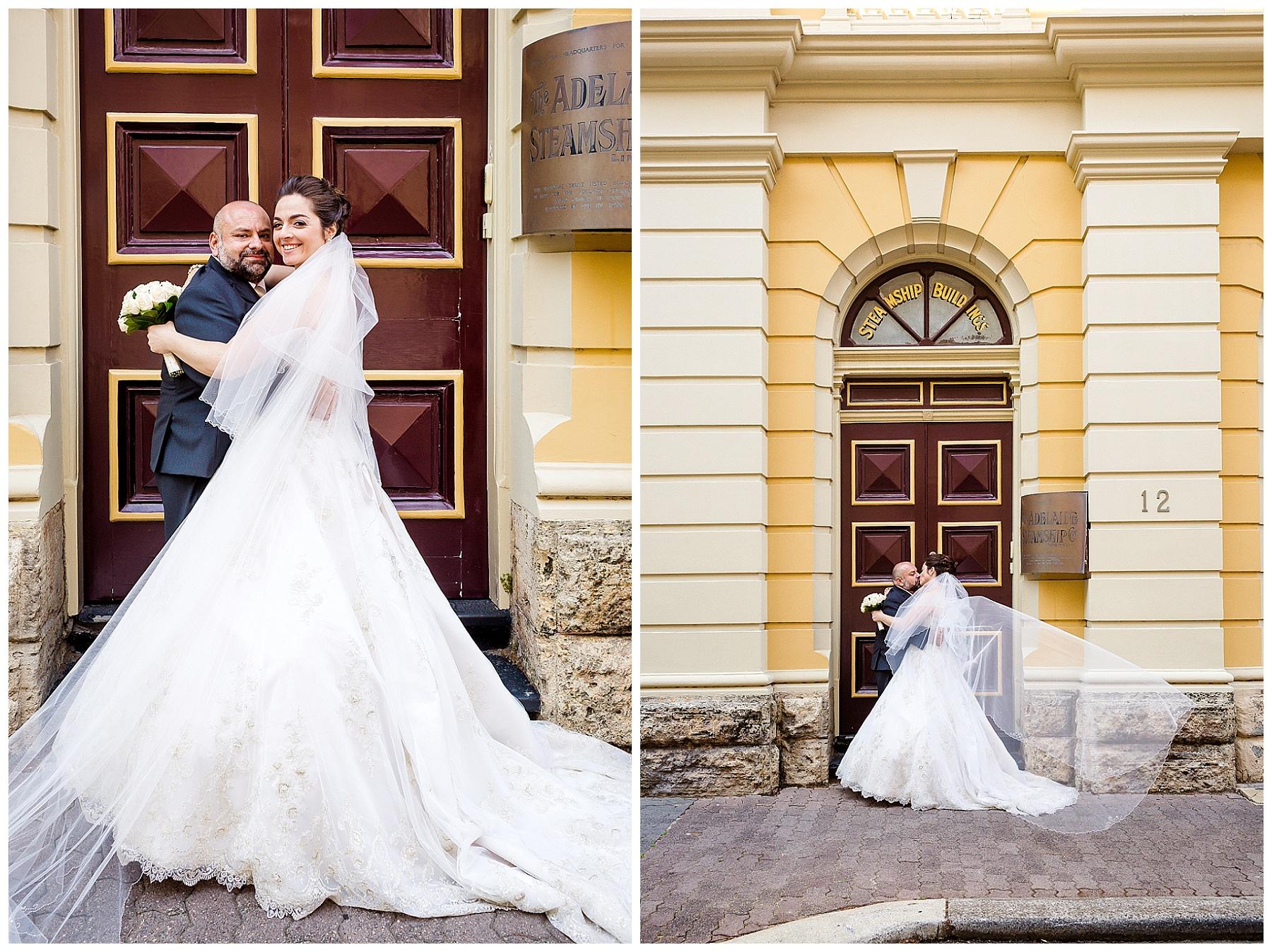 old buildings in fremantle for wedding