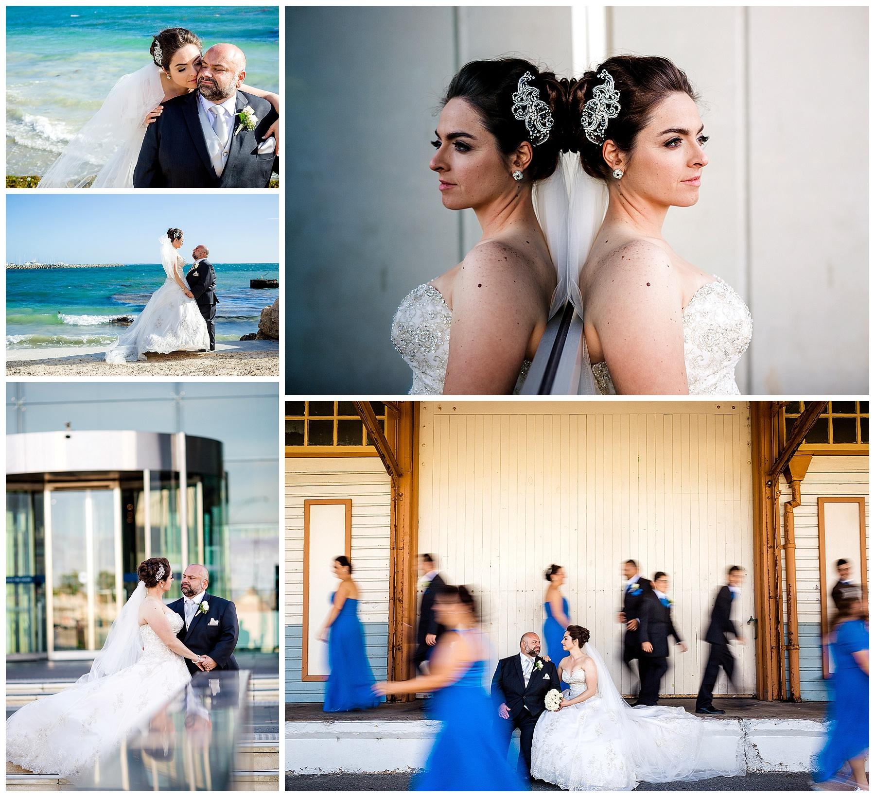 beach wedding fremantle