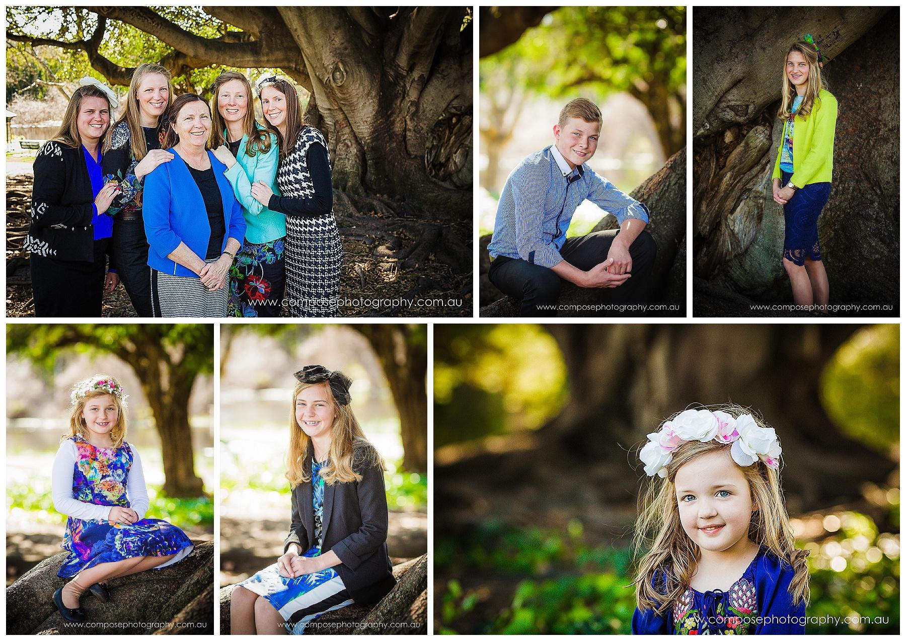 family portrait photographer perth