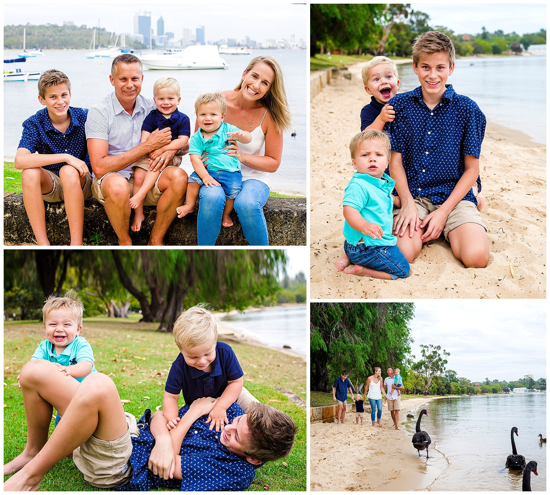 candid family portraits perth