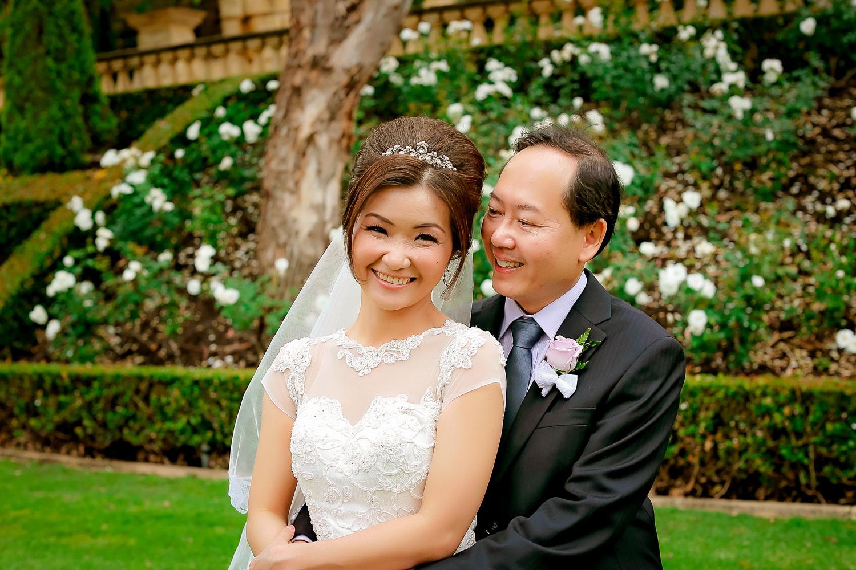 spring swan valley wedding