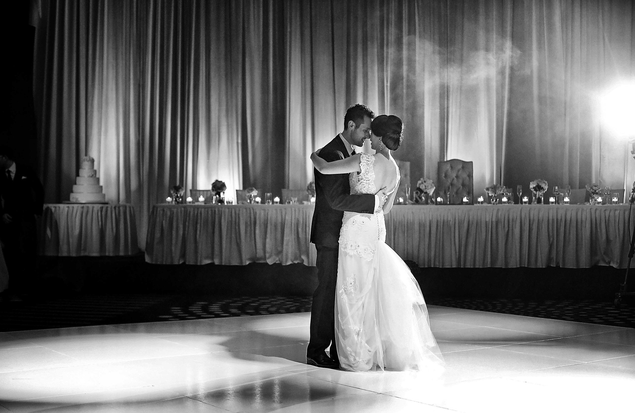 astral ballroom wedding lighting