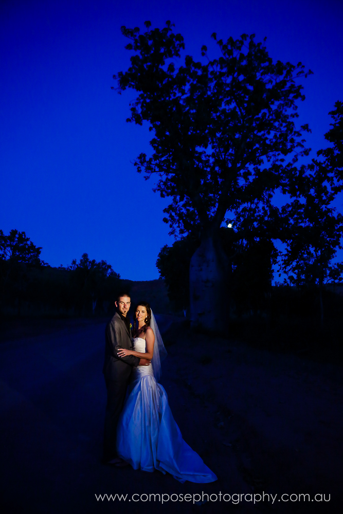el questro wedding photo