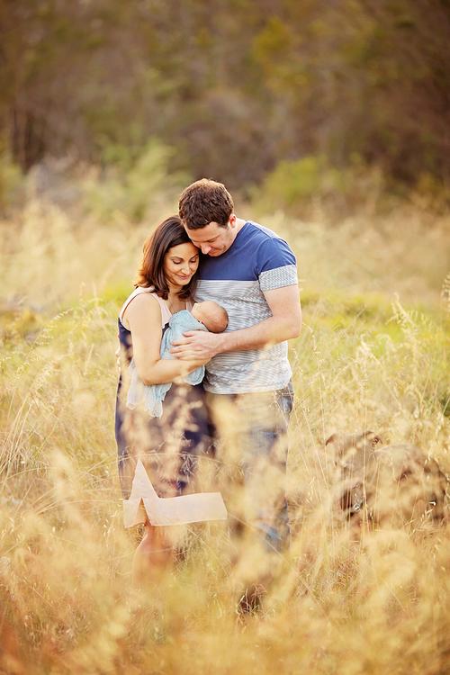 outdoor newborn portraits perth