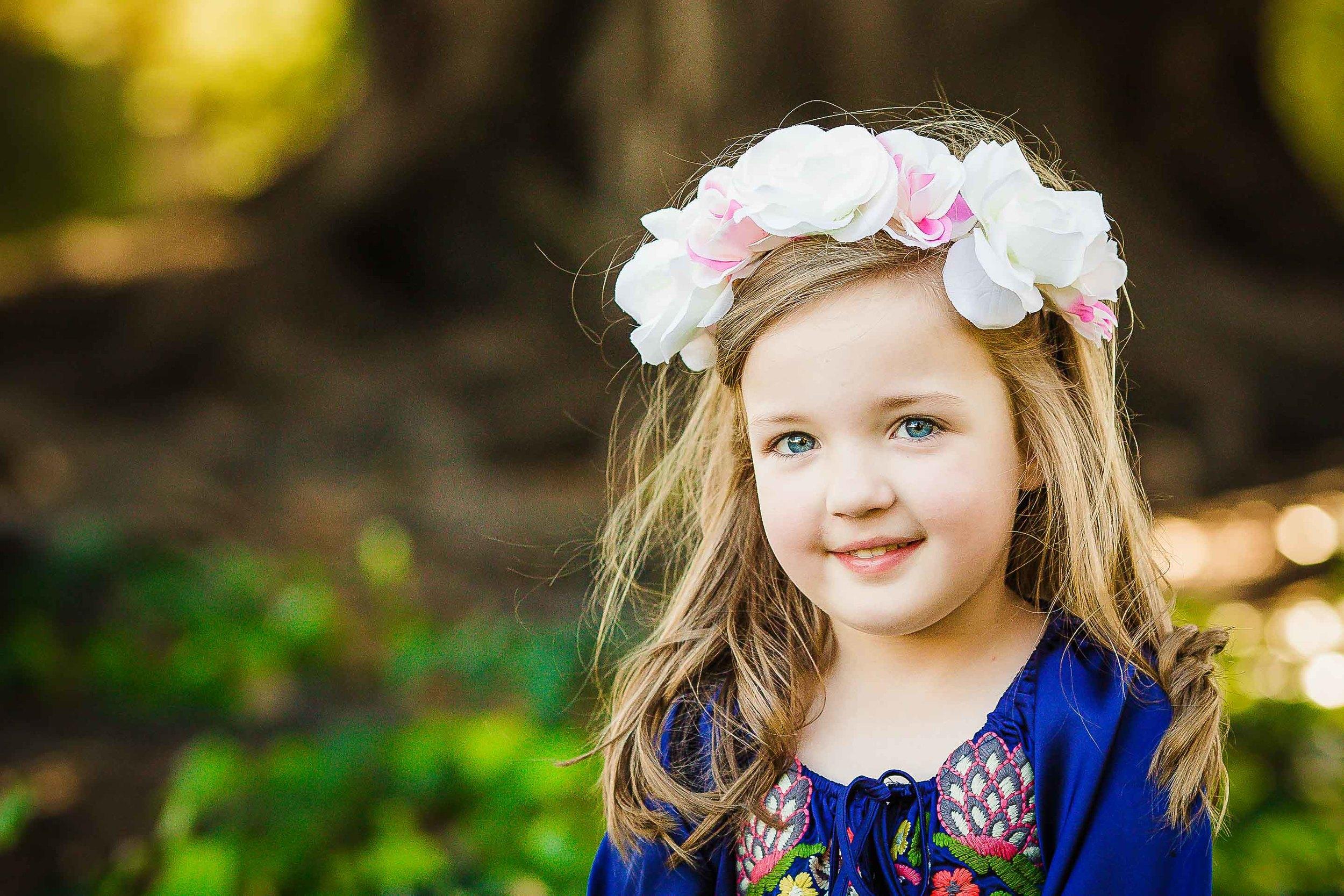 kids floral crown