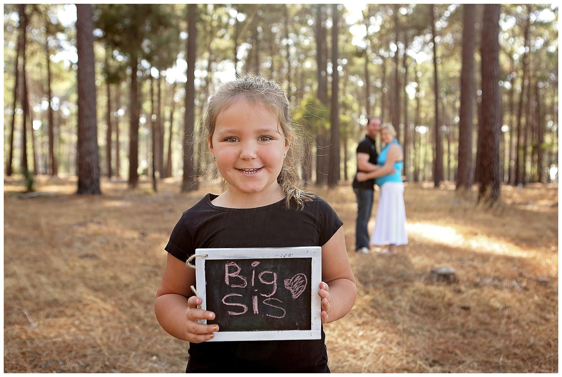 baby announcement photo