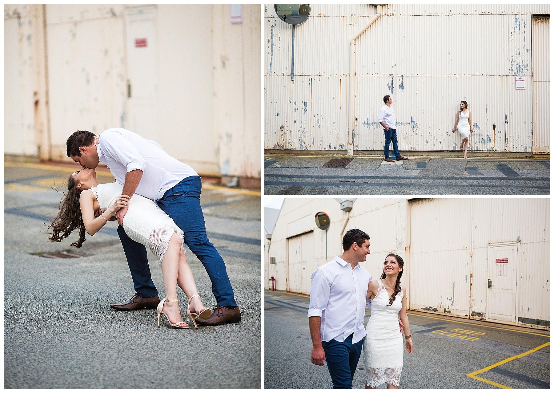 industrial wedding perth