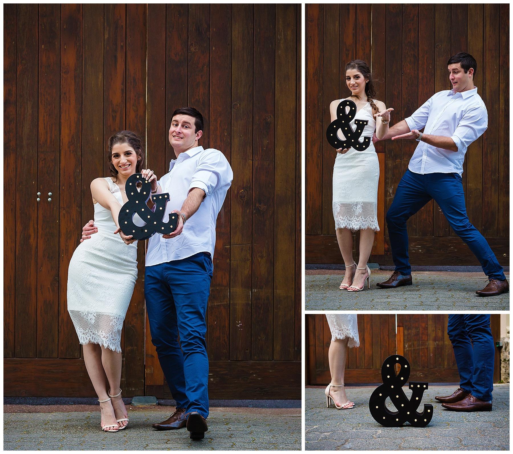 engagement photo fremantle