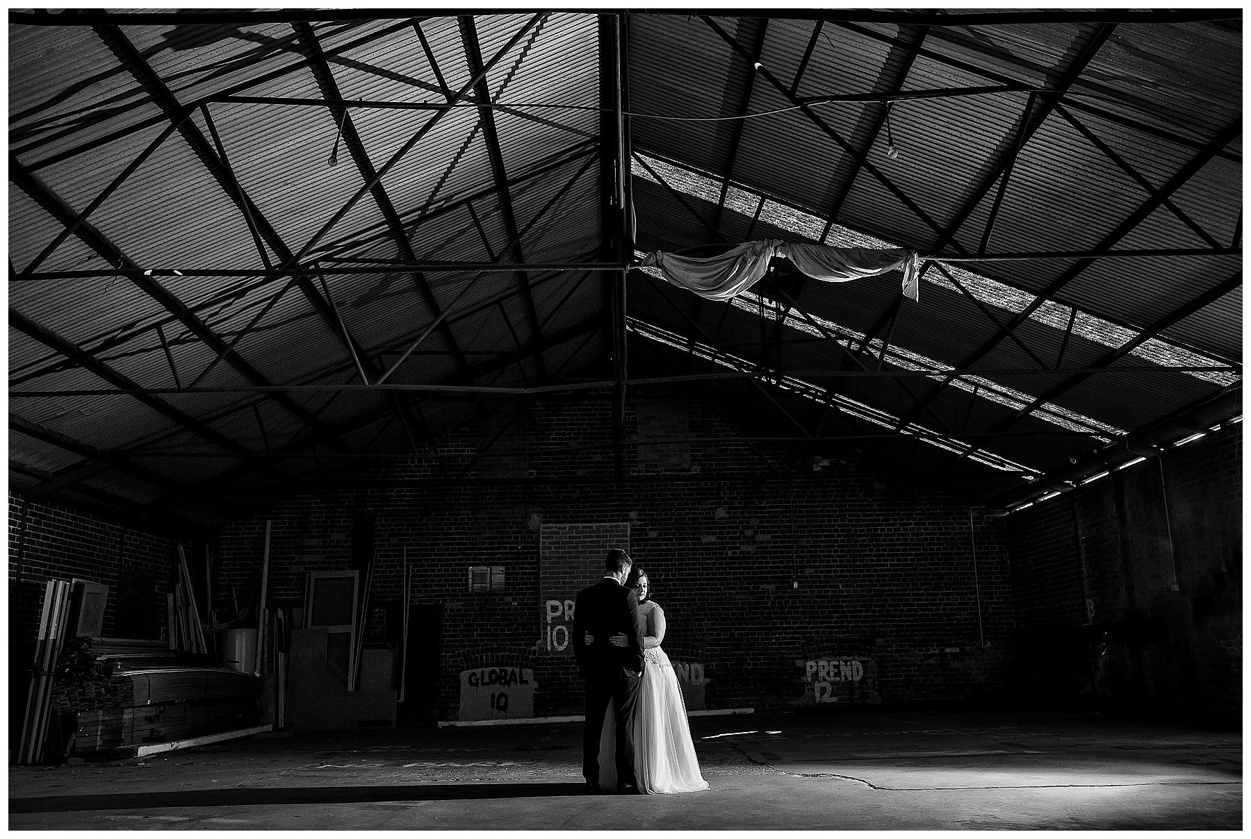 warehouse wedding fremantle