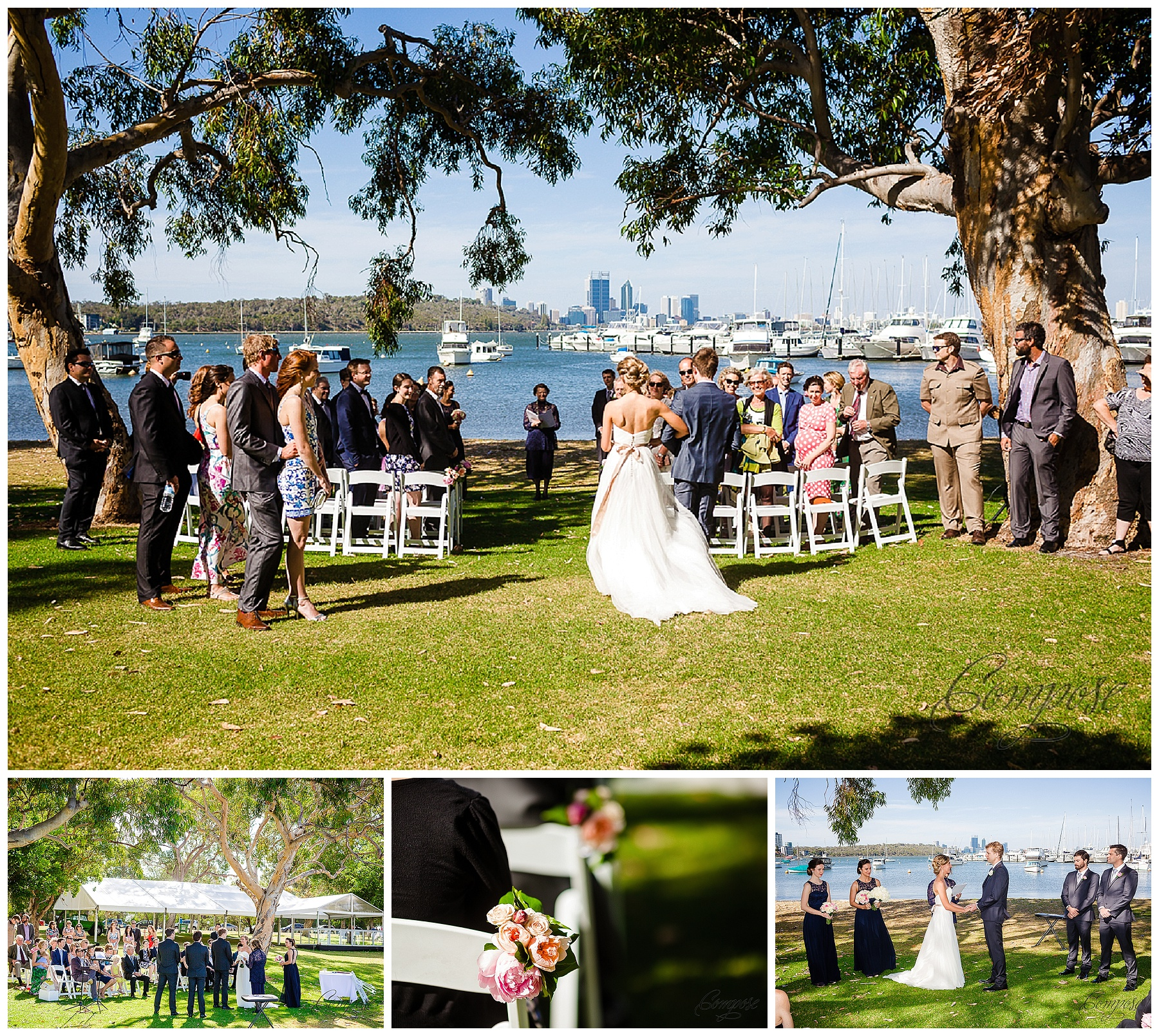 swan river wedding ceremony location
