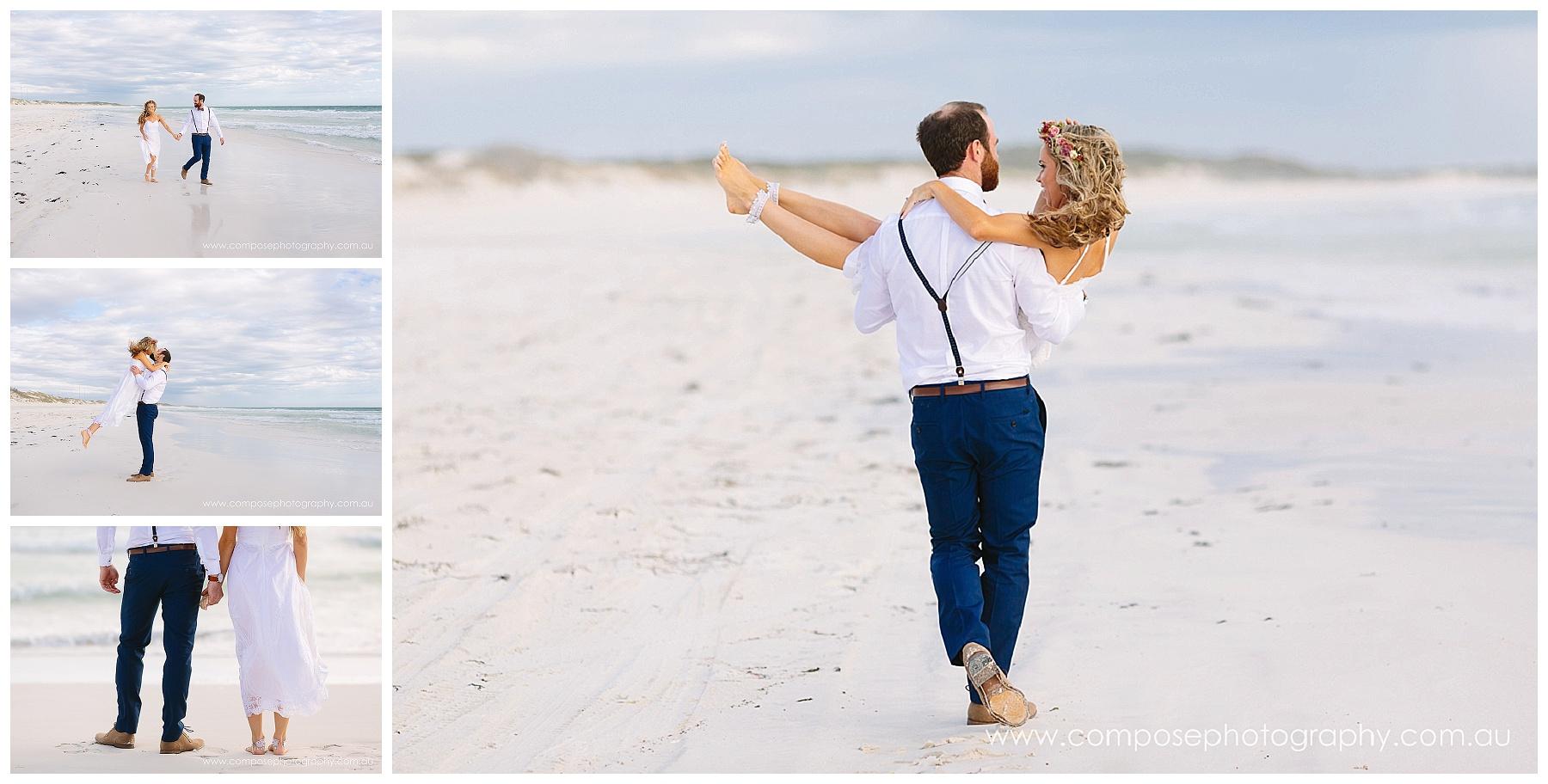 beach wedding perth