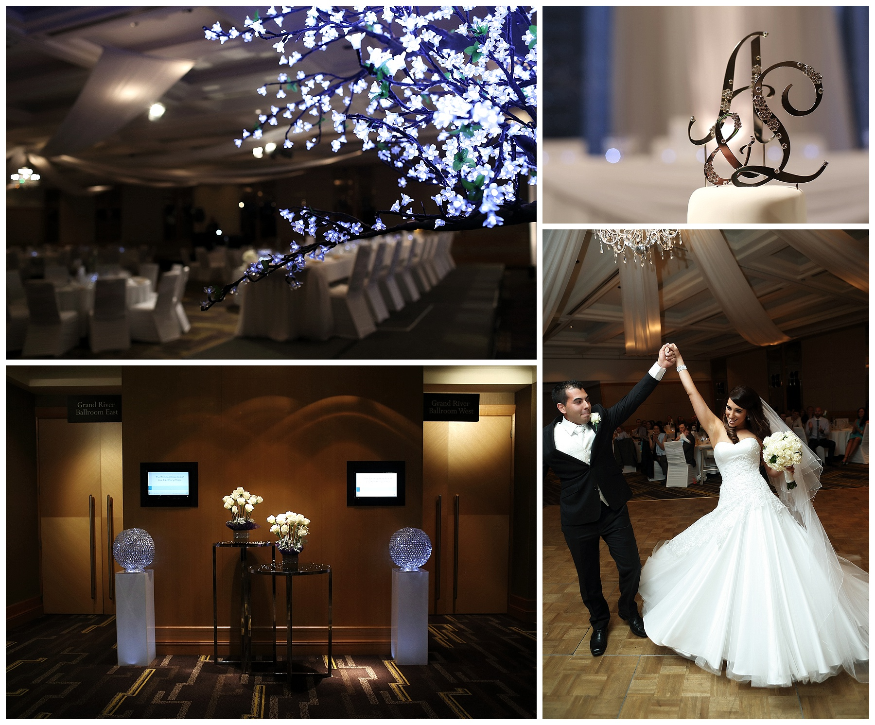 Ballroom wedding Perth