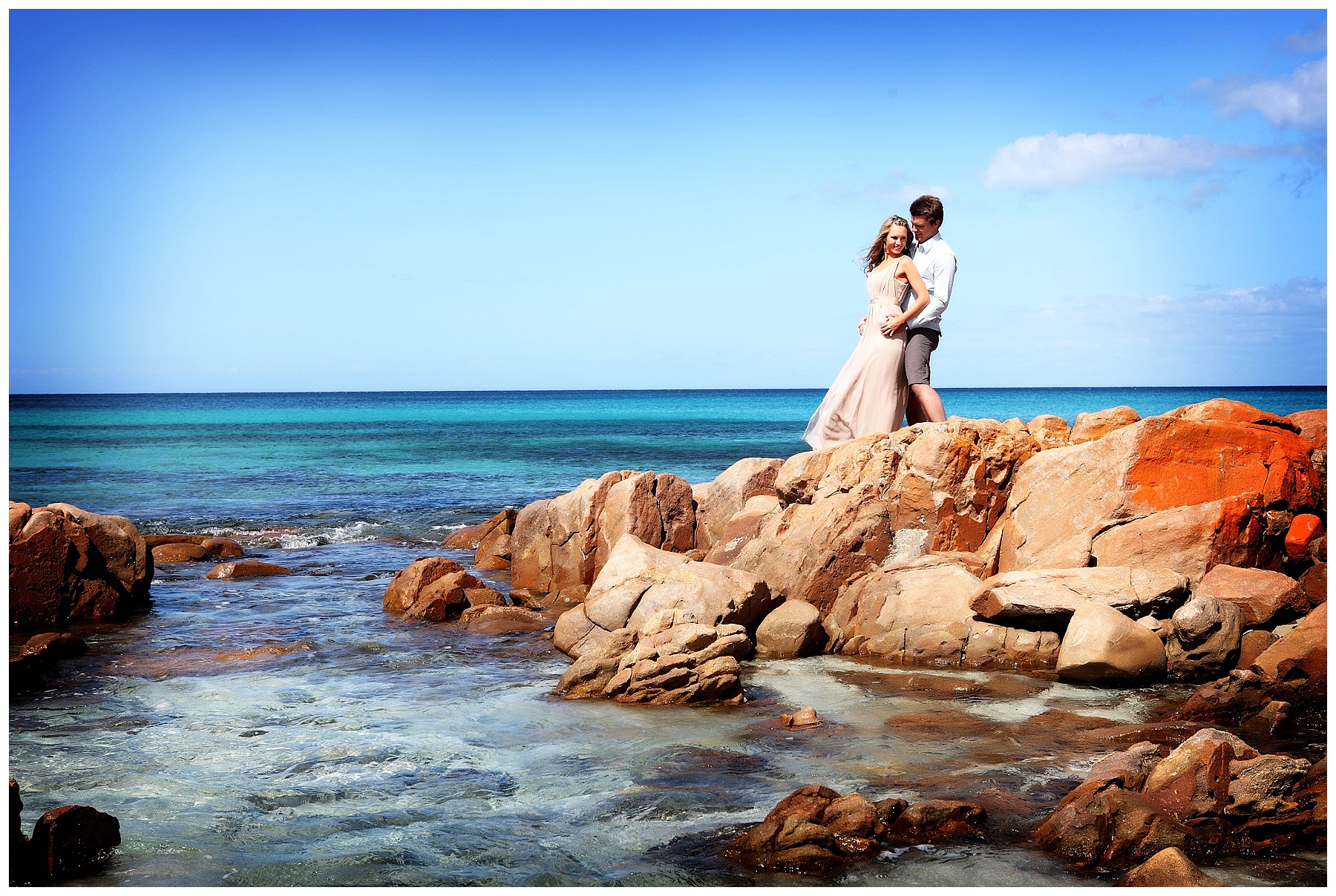 Canal Rocks wedding photo