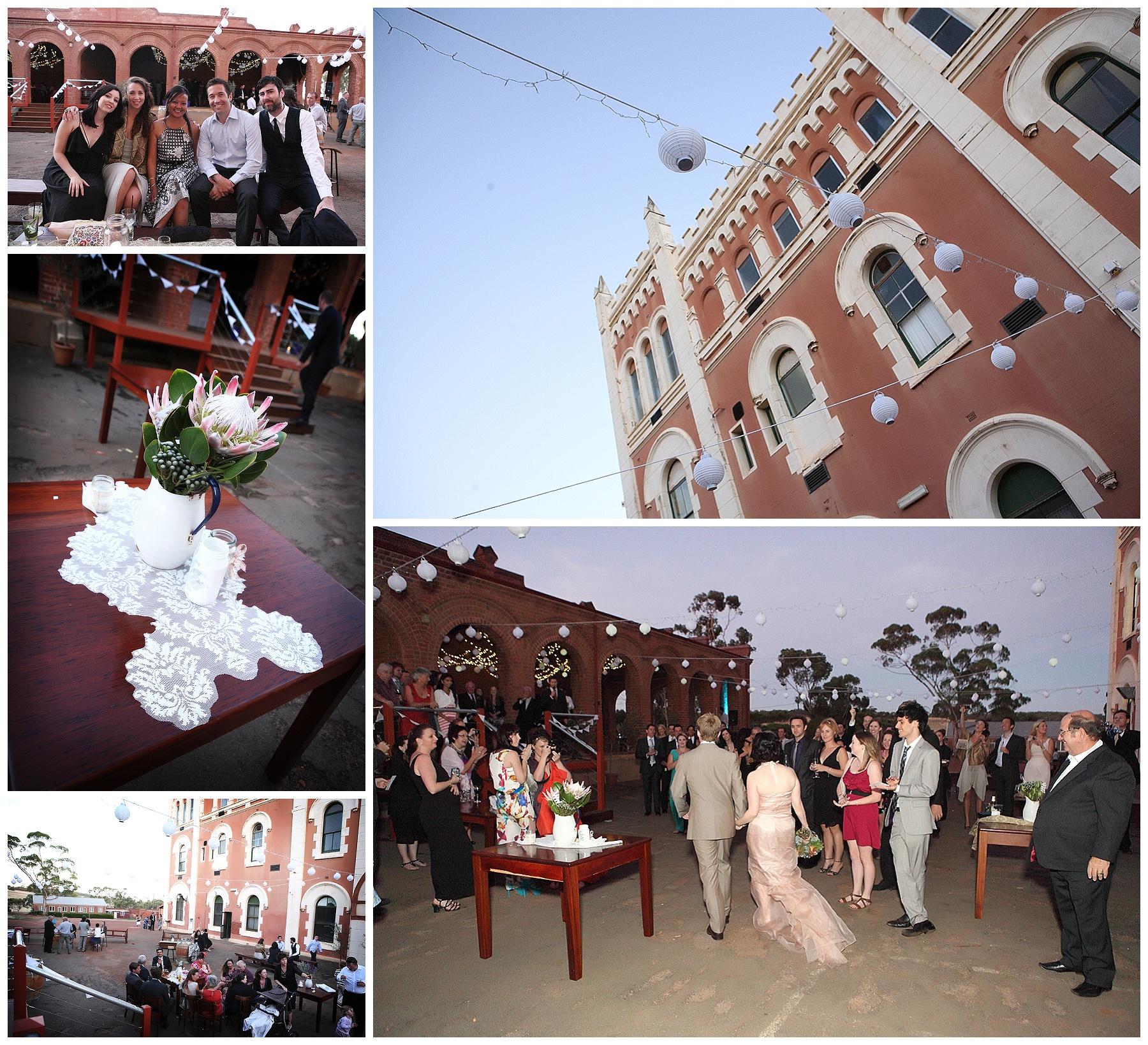 Outdoor Wedding Reception Perth