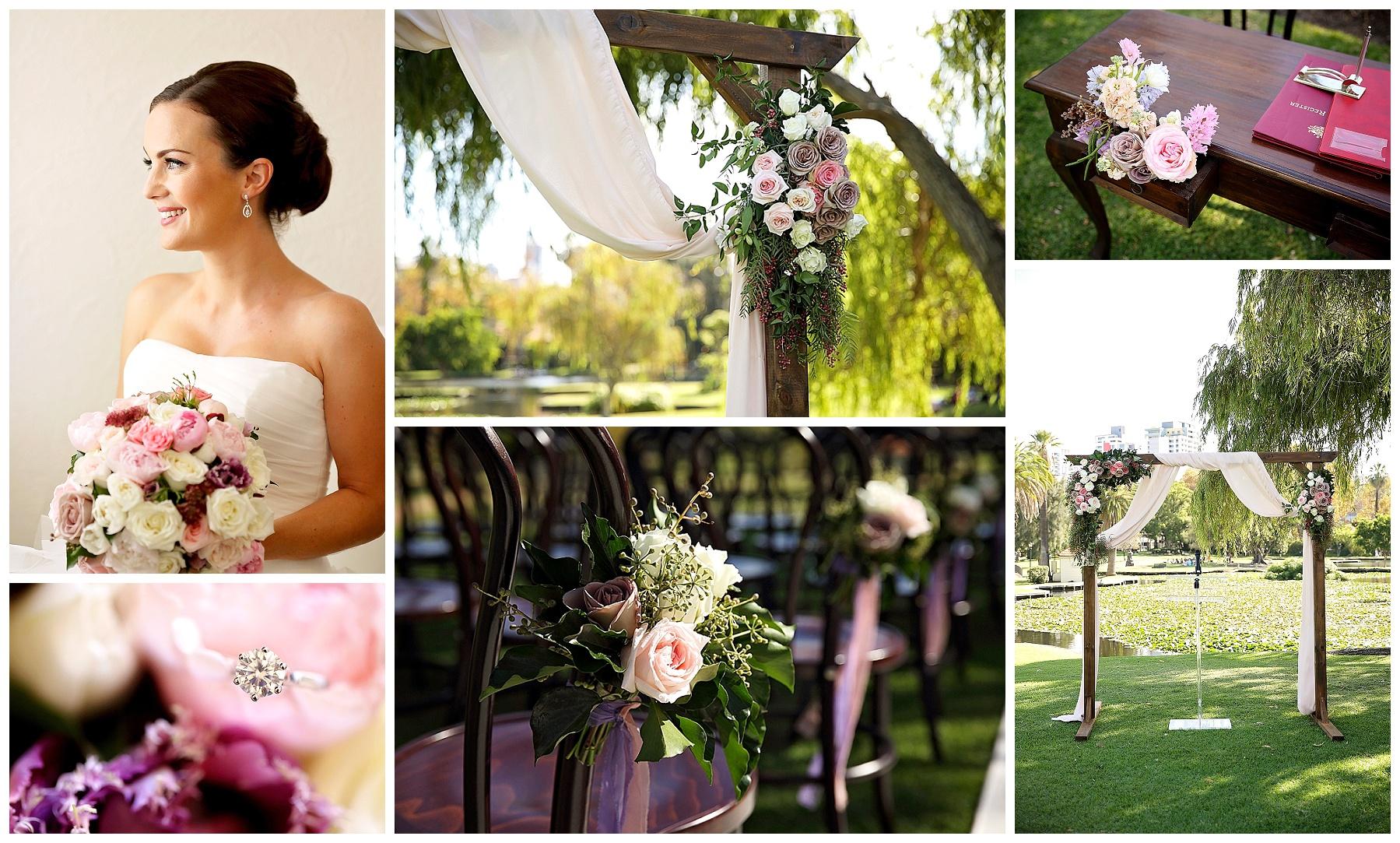 Wedding with Flair ceremony