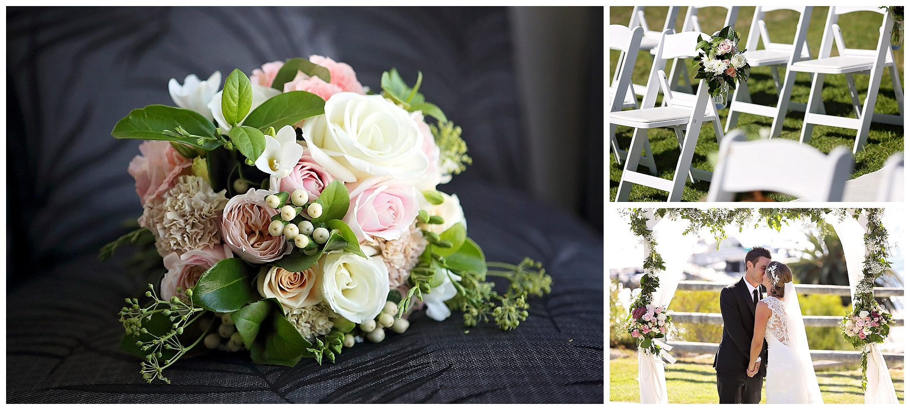 floral wedding arch perth