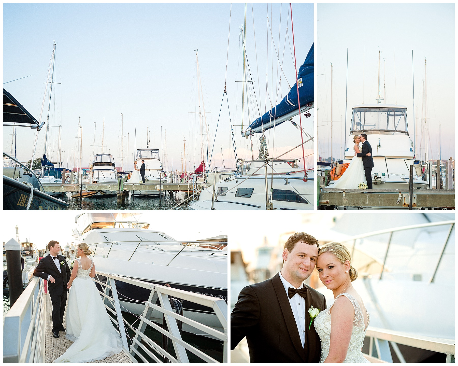 Hillarys Yacht Club Wedding, wedding ceremony on the boardwalk and wedding reception in the Harbour Room. Images by Perth Wedding Photographer Compose