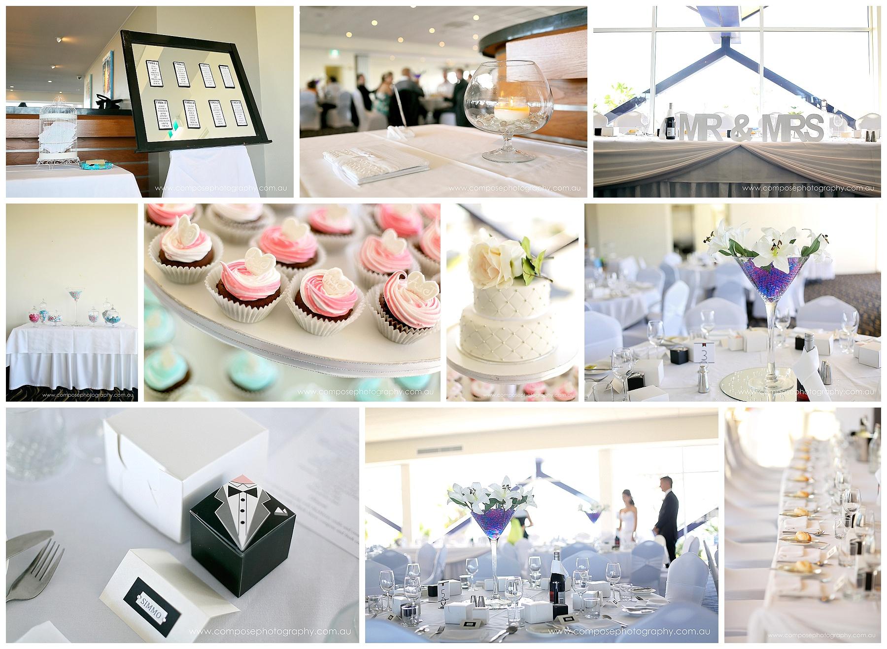 Cupcake wedding cake Perth
