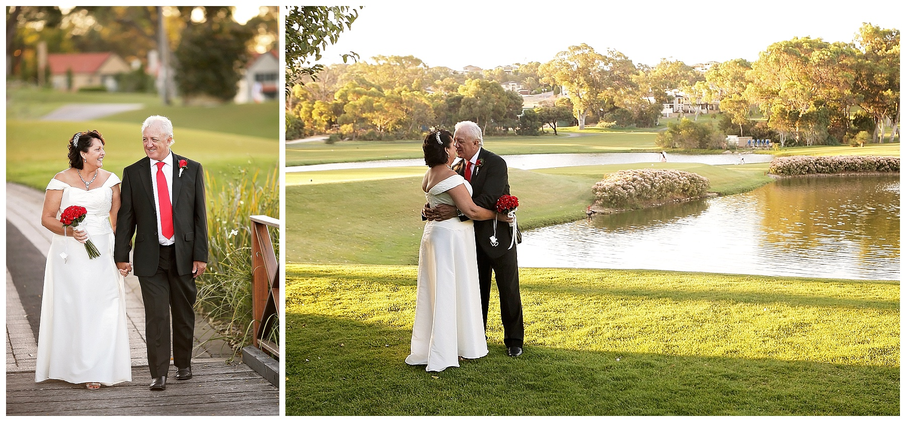 Intimate wedding Joondalup Resort