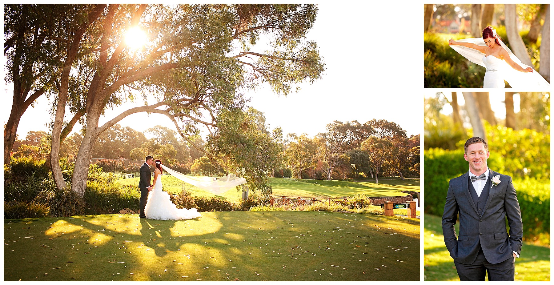 Garden wedding Joondalup Resort