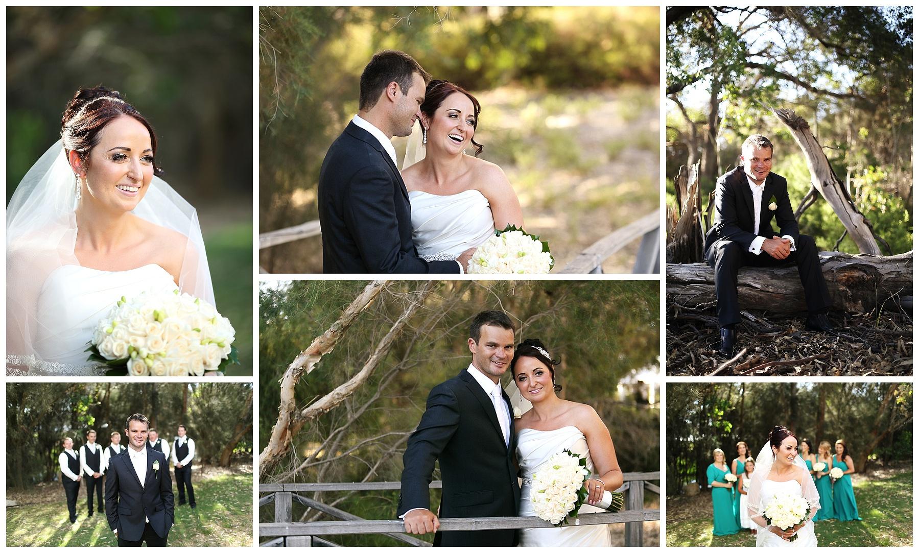 Natural garden wedding Perth