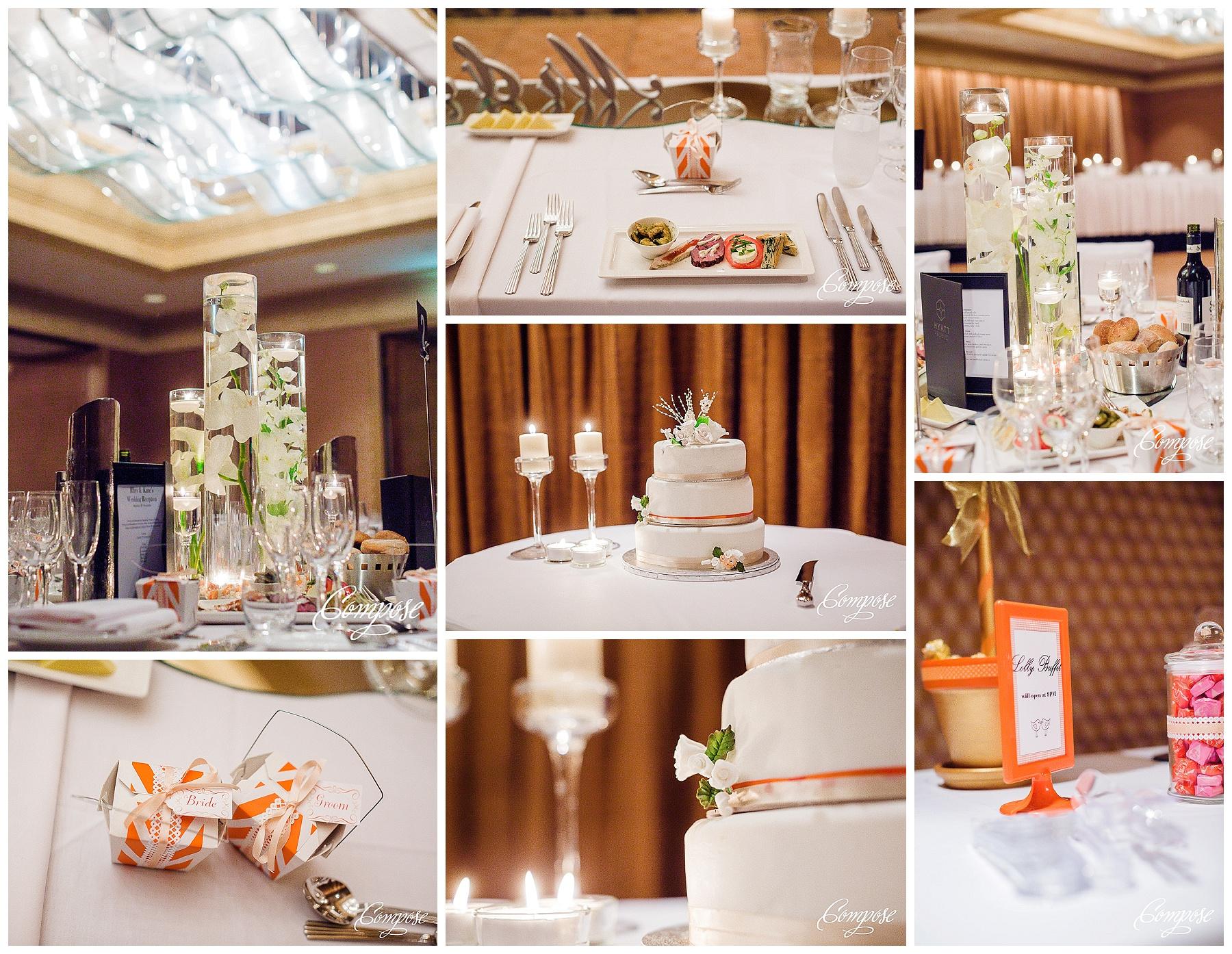 Hyatt Plaza Ballroom wedding