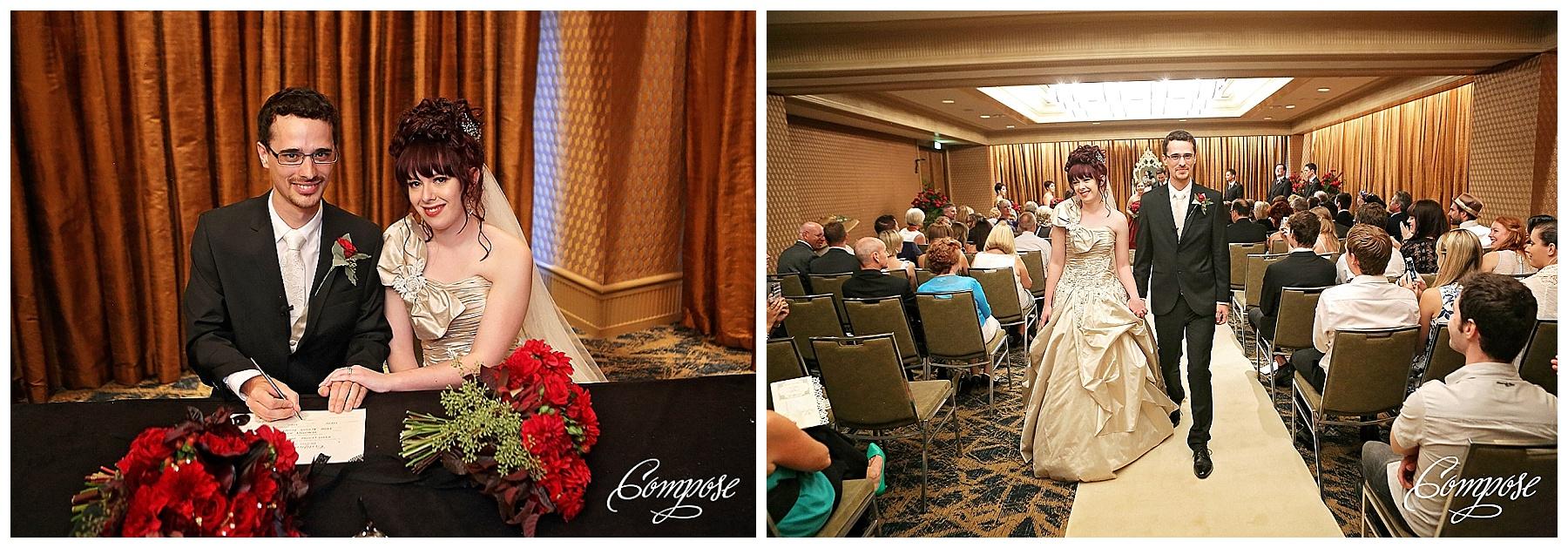 Hyatt Perth wedding