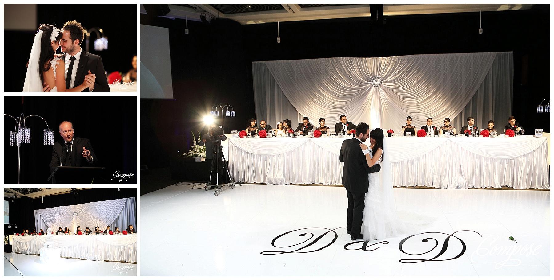 Hyatt grand ballroom wedding