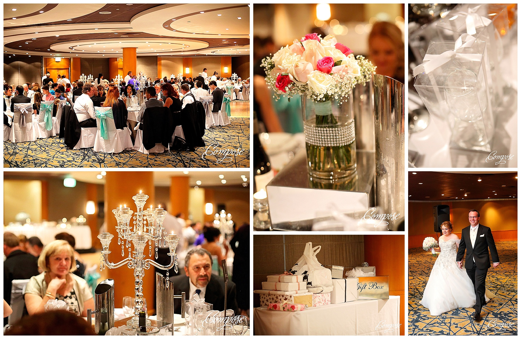 Hyatt wedding Terrace ballroom