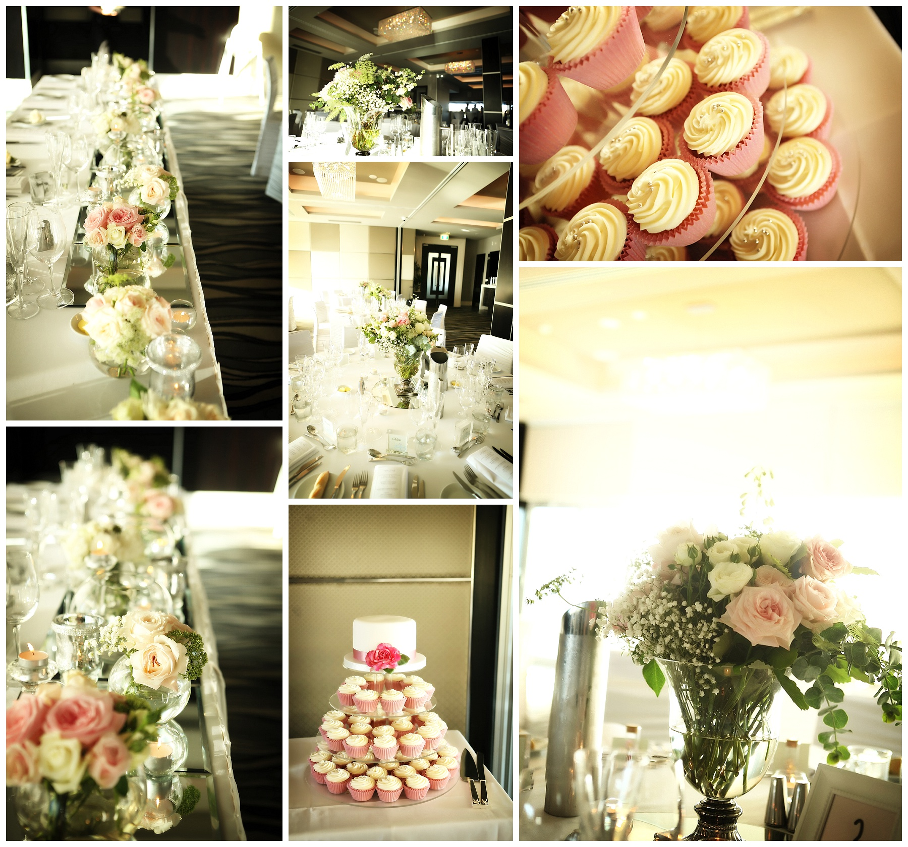 Cupcake wedding cake Perth