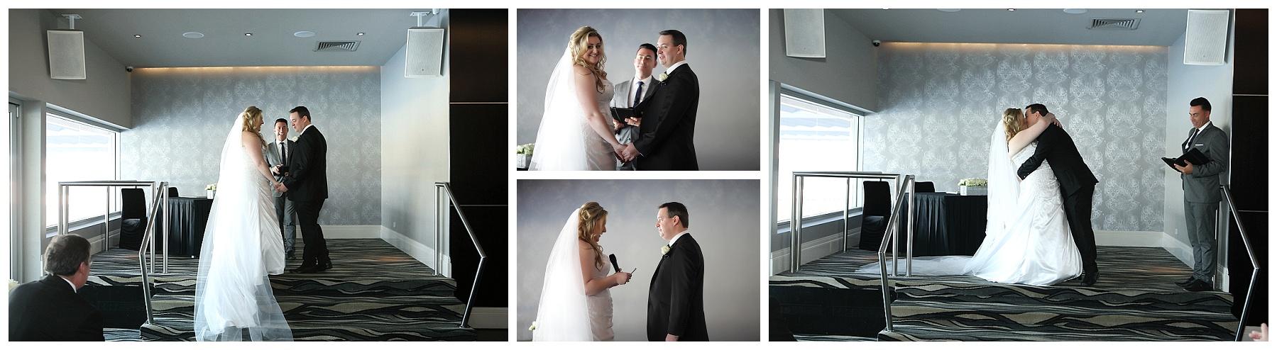 Wedding ceremony at the Breakwater