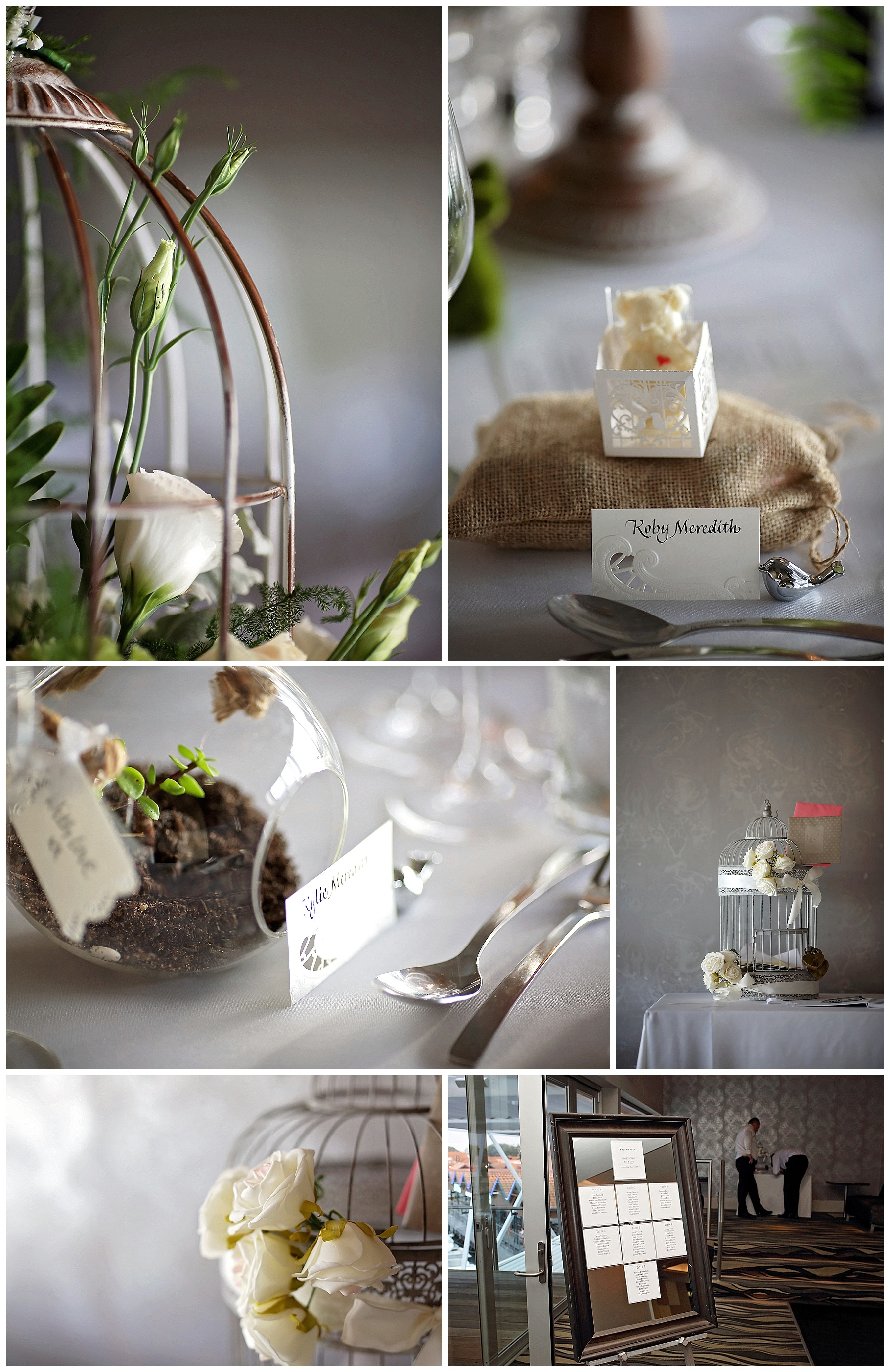 Wedding reception styling Perth