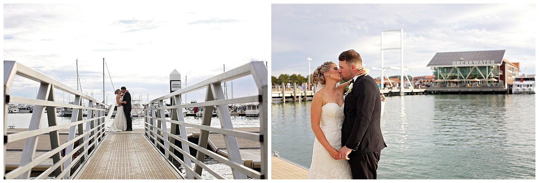 Wedding by the water Perth