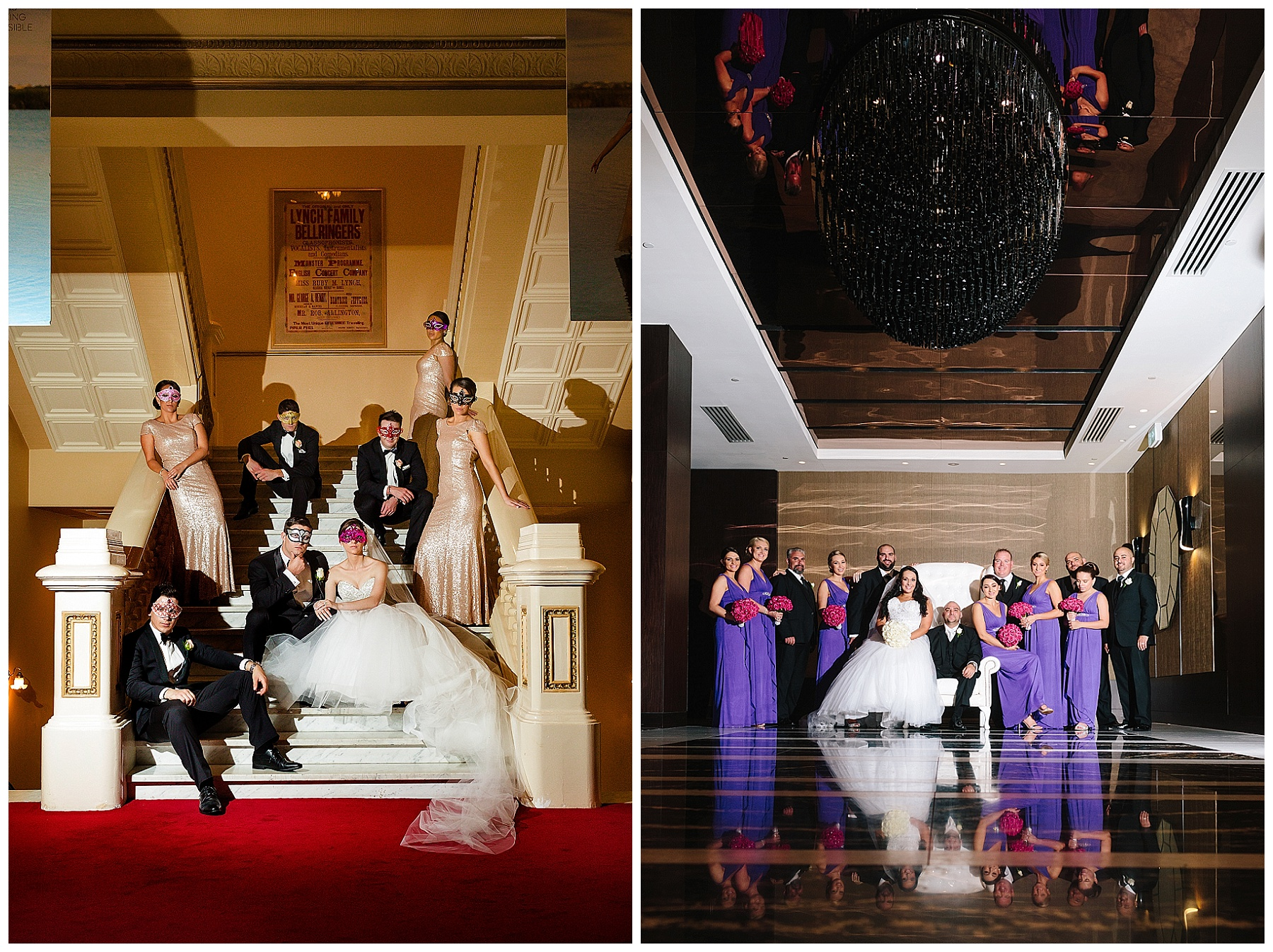 His Majestys Theatre wedding photography