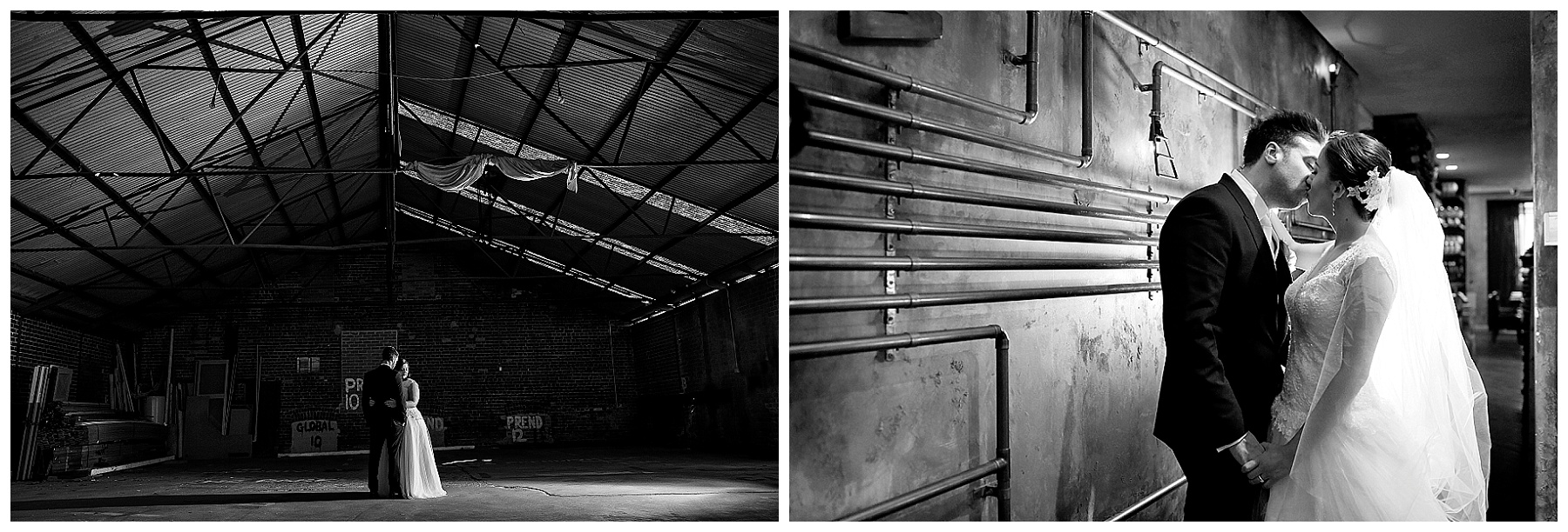 Industrial Wedding Photography Perth