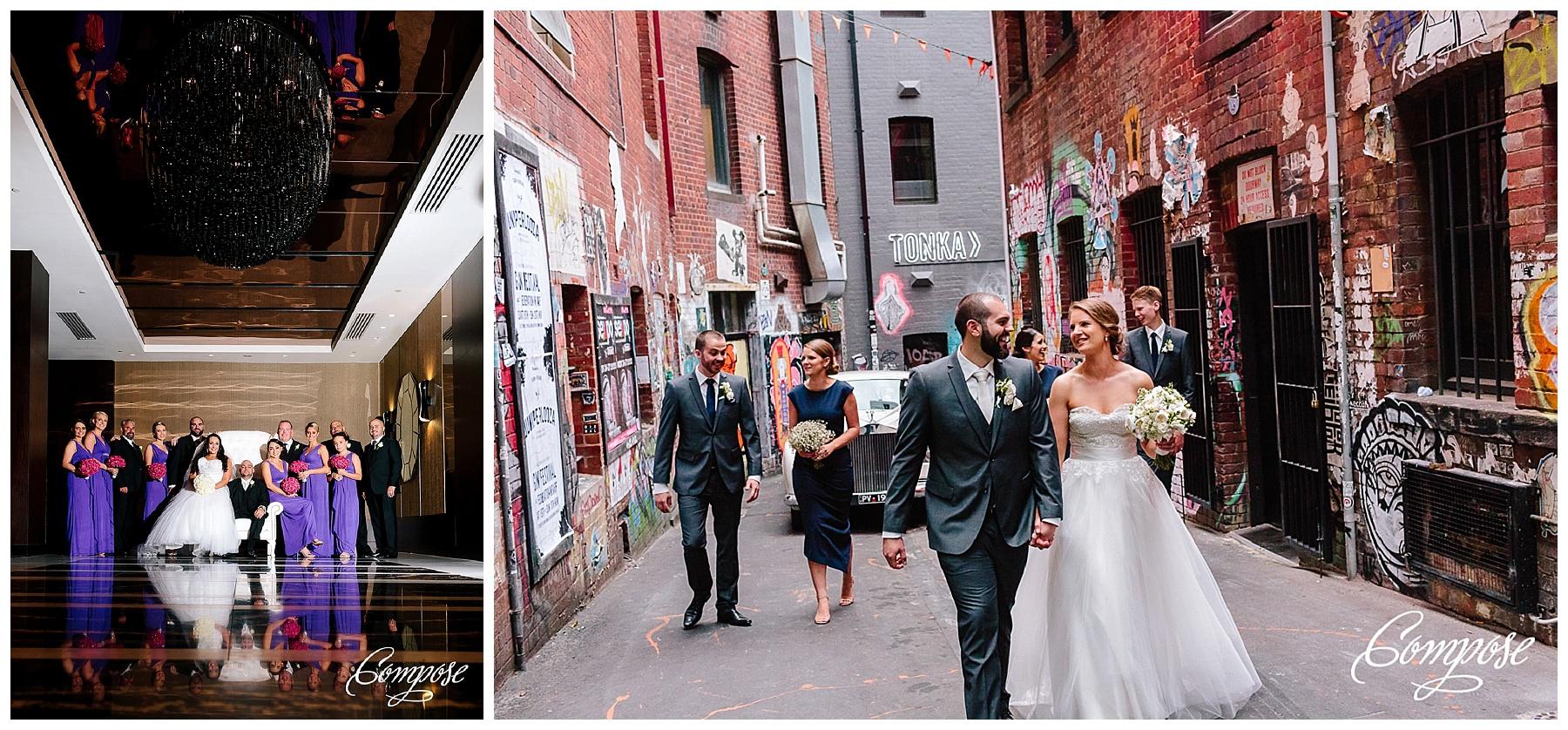 Flinders Lane Wedding