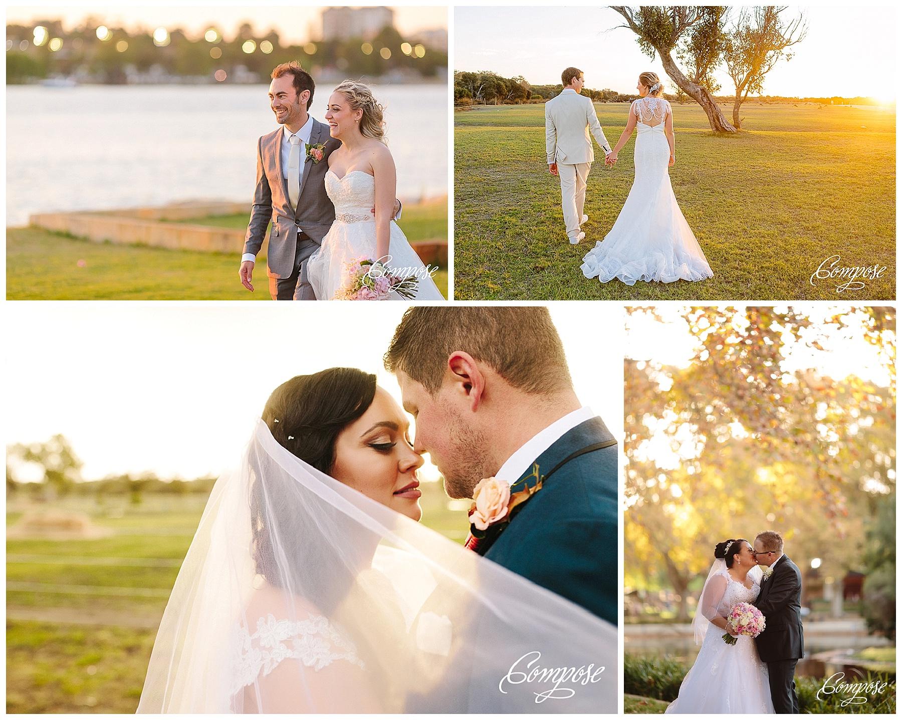 Sunset Wedding Perth