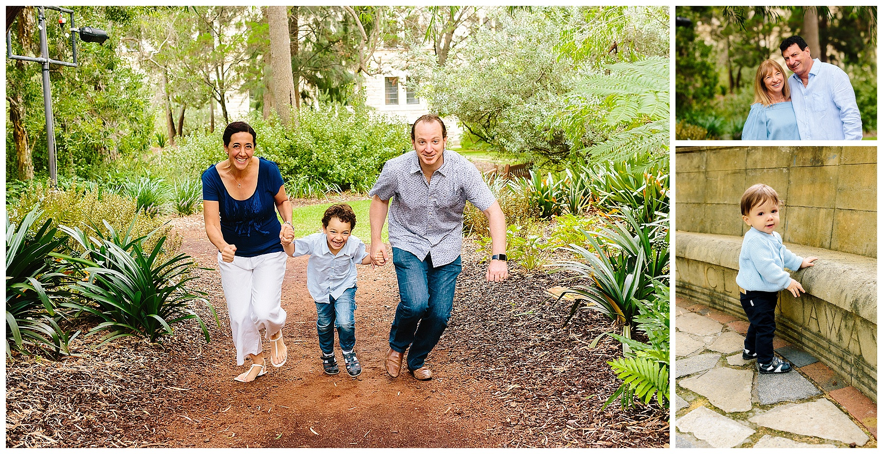 Fun family portraits Perth