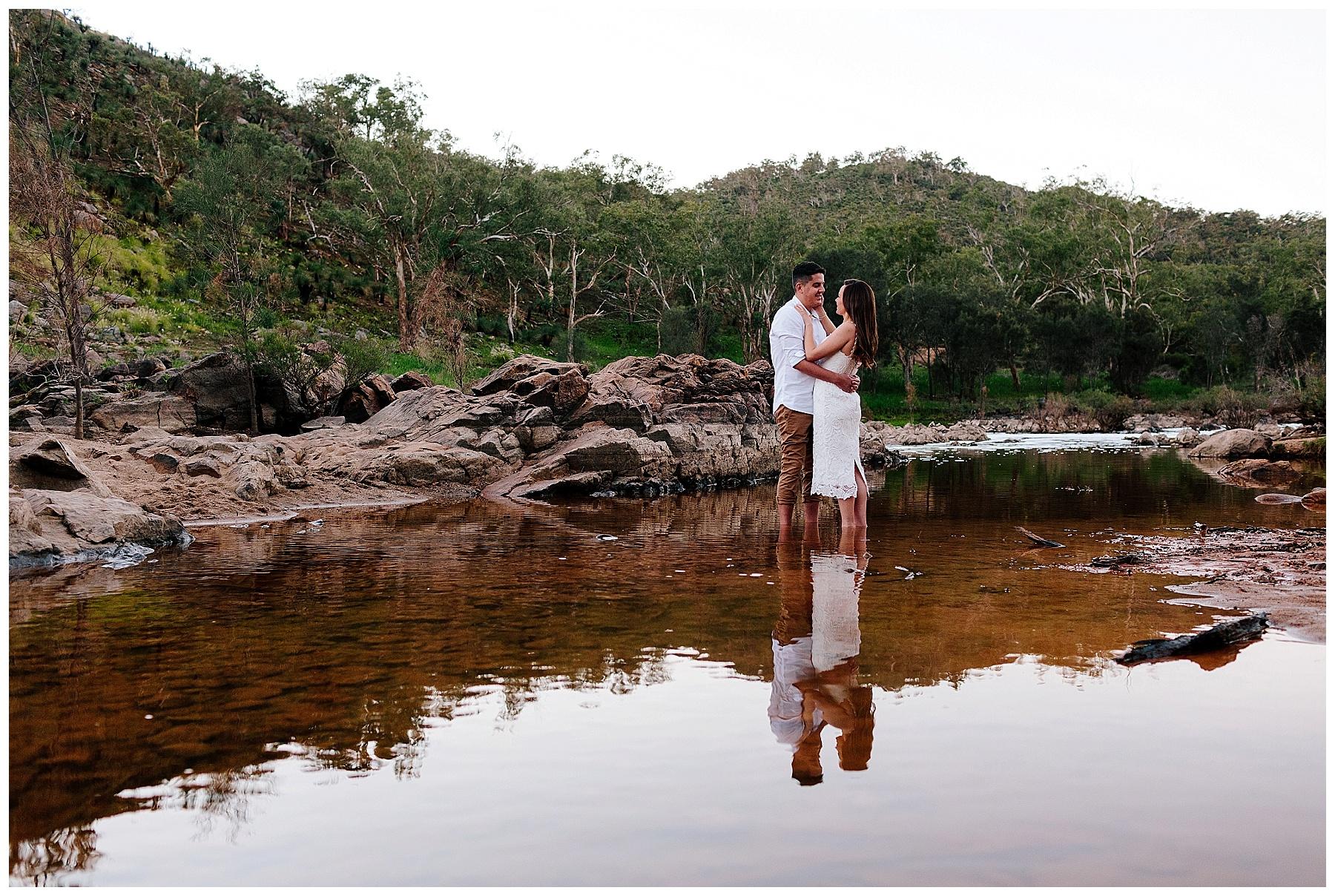 Perth engagement portrait photography