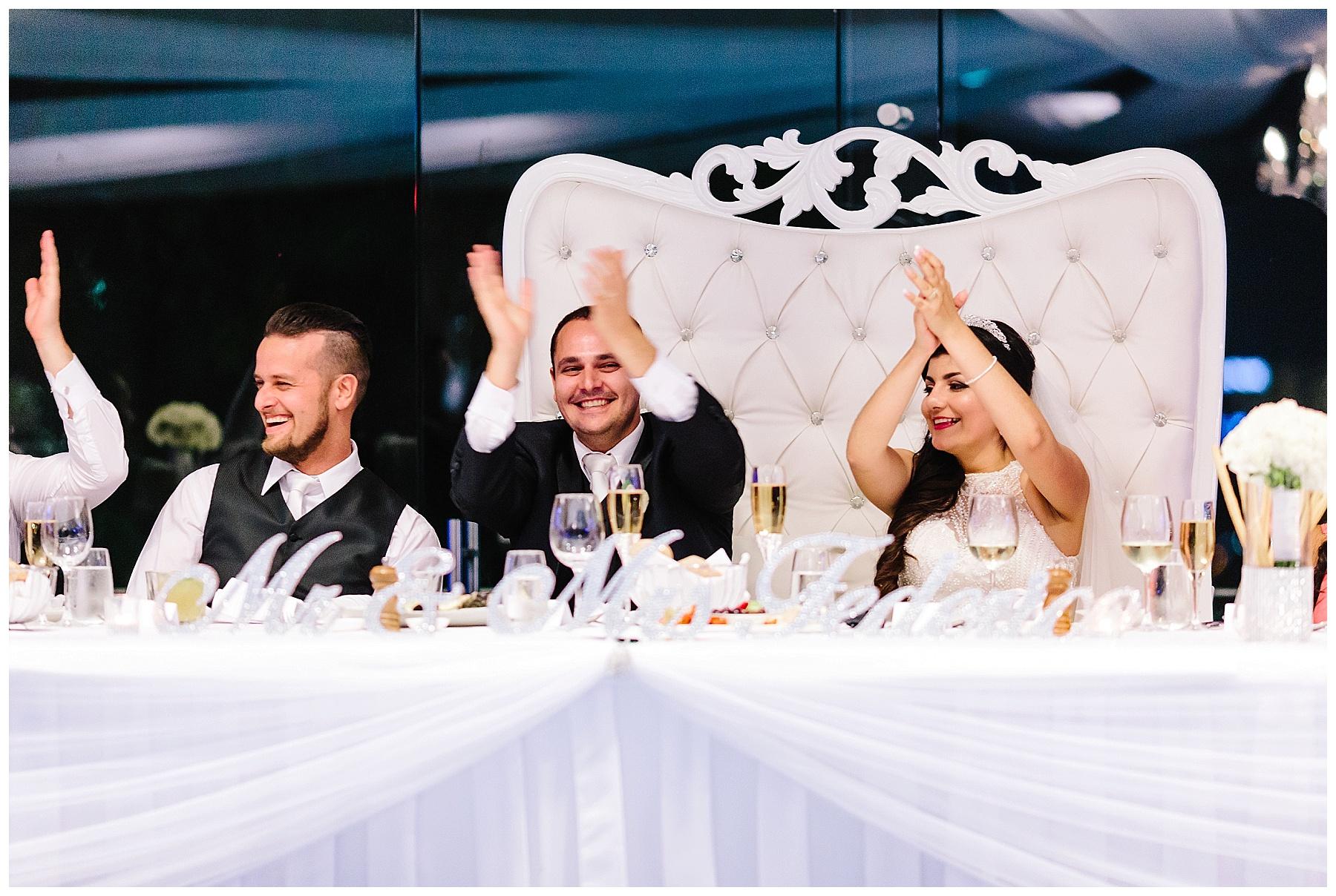 Frasers Restaurant wedding