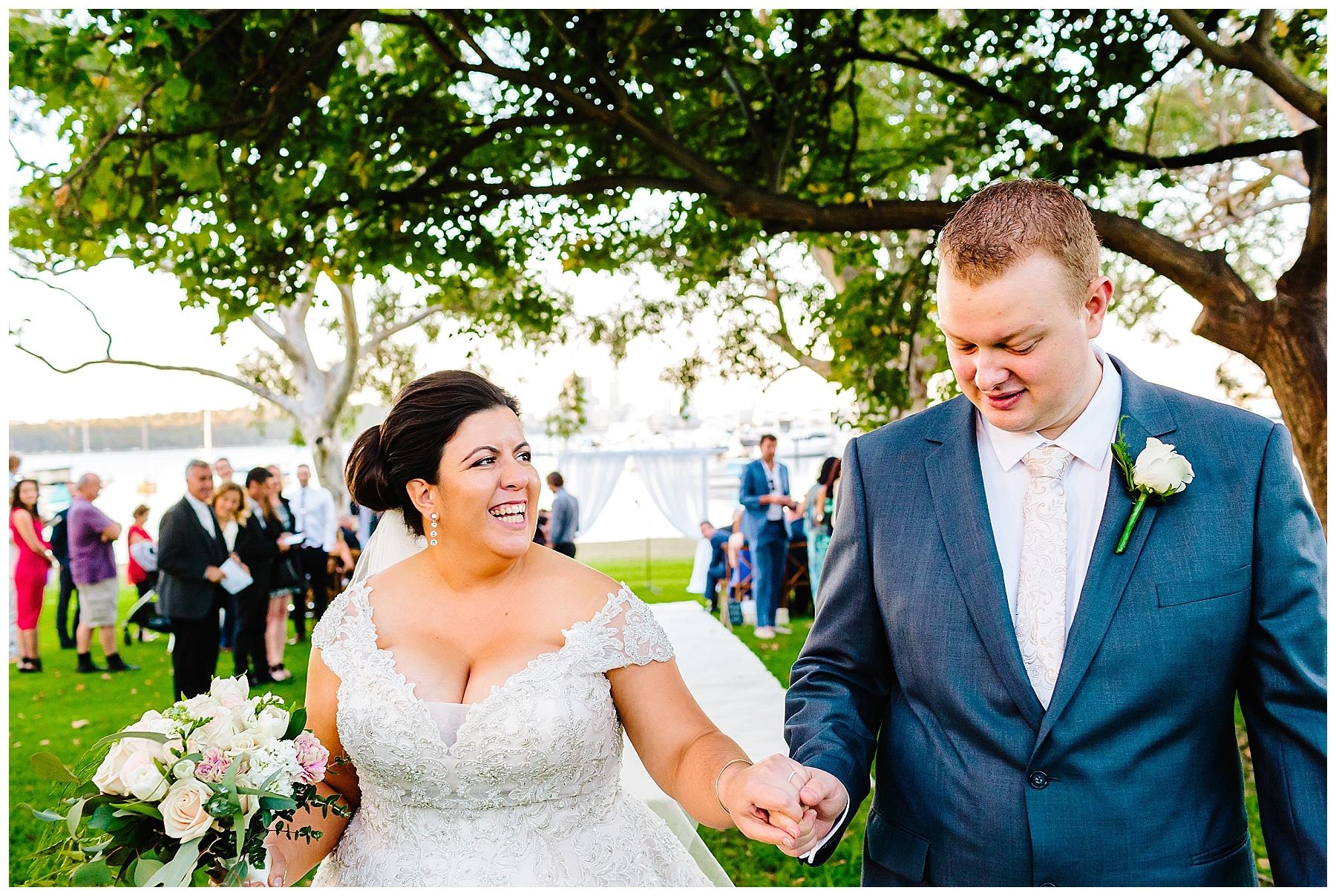 weddings at Matilda Bay