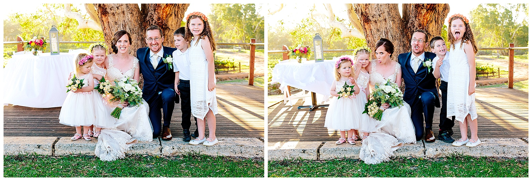 fun wedding photography Perth