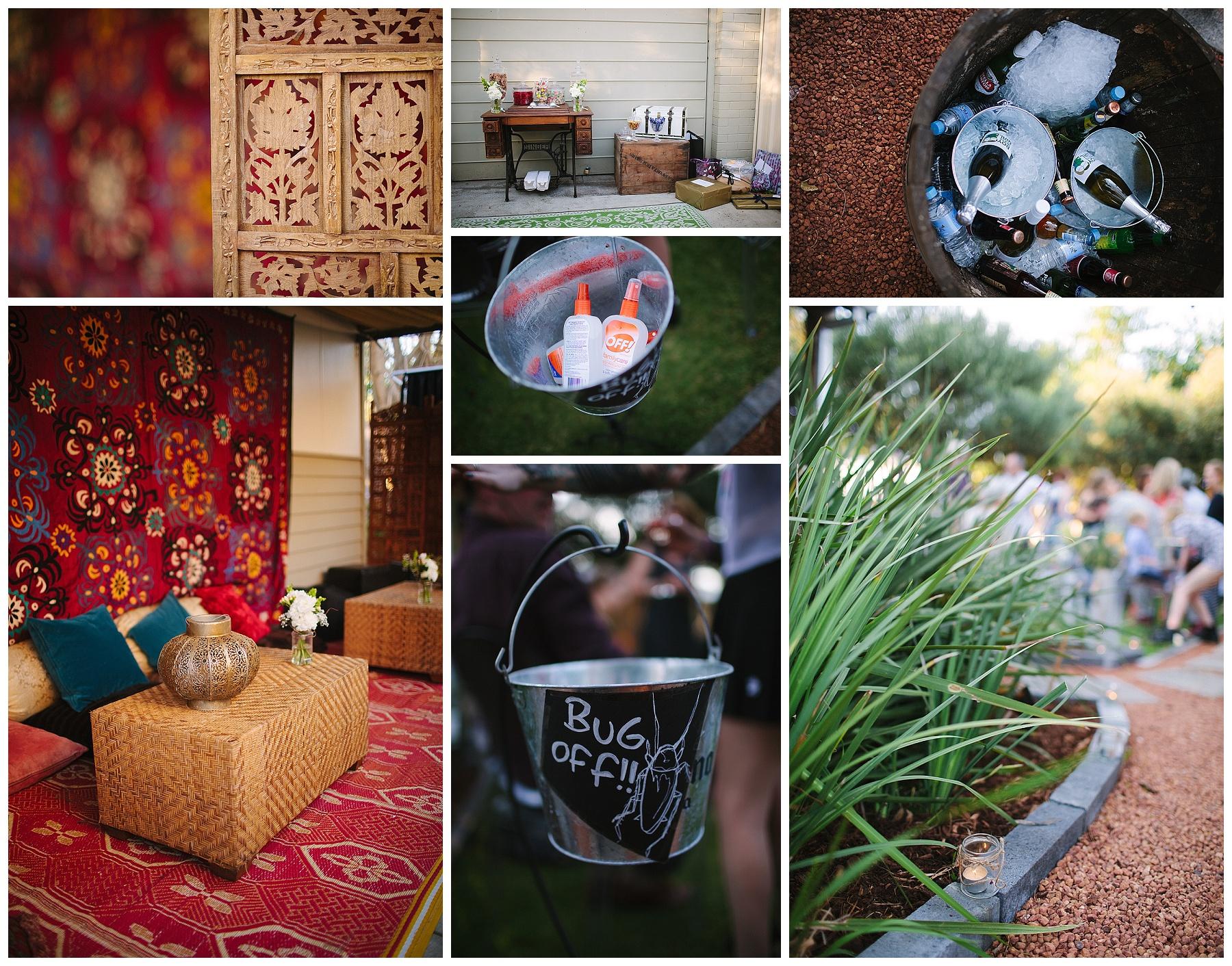Garden wedding Fremantle